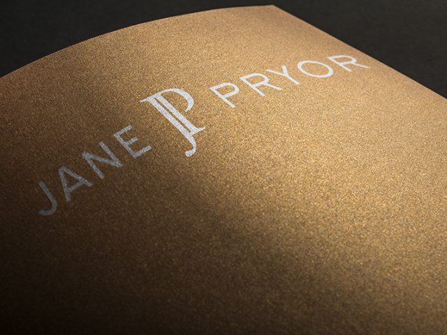Jane Pryor Logo Design